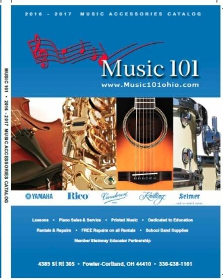 Music 101 Retail Catalog