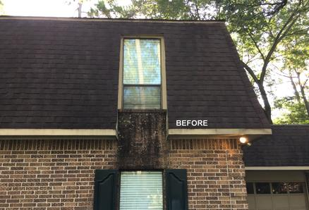 Exterior House Washing in Spring TX