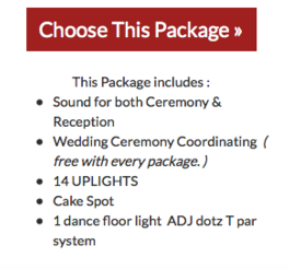 Silver wedding package link
