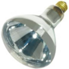 Infrared Heat Lamp 125 Watt clear bulb