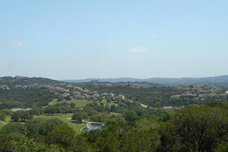 Photograph of River Place landscape from overlook