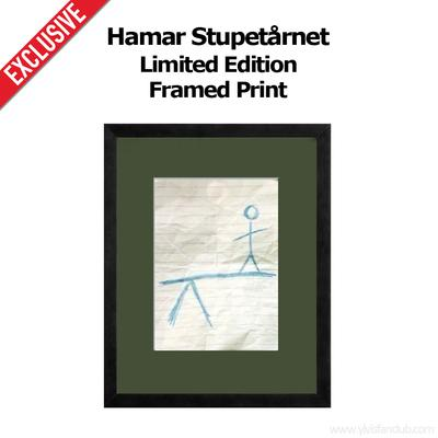 Signed and Numbered Framed Print
