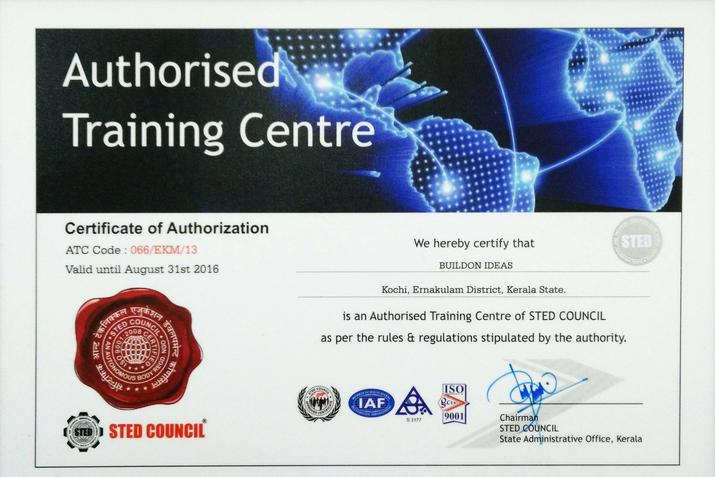 Sted Council Authorisation Certificate