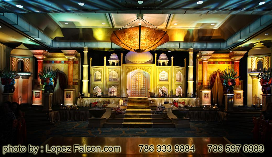 BOLLYWOOD INDIAN STAGE DECORATION QUINCES MIAMI PHOTOGRAPHY VIDEO DRESSES QUINCEANERA QUINCE 15 ANOS