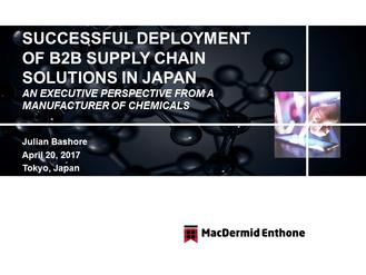 Japan Supply Chain Forum