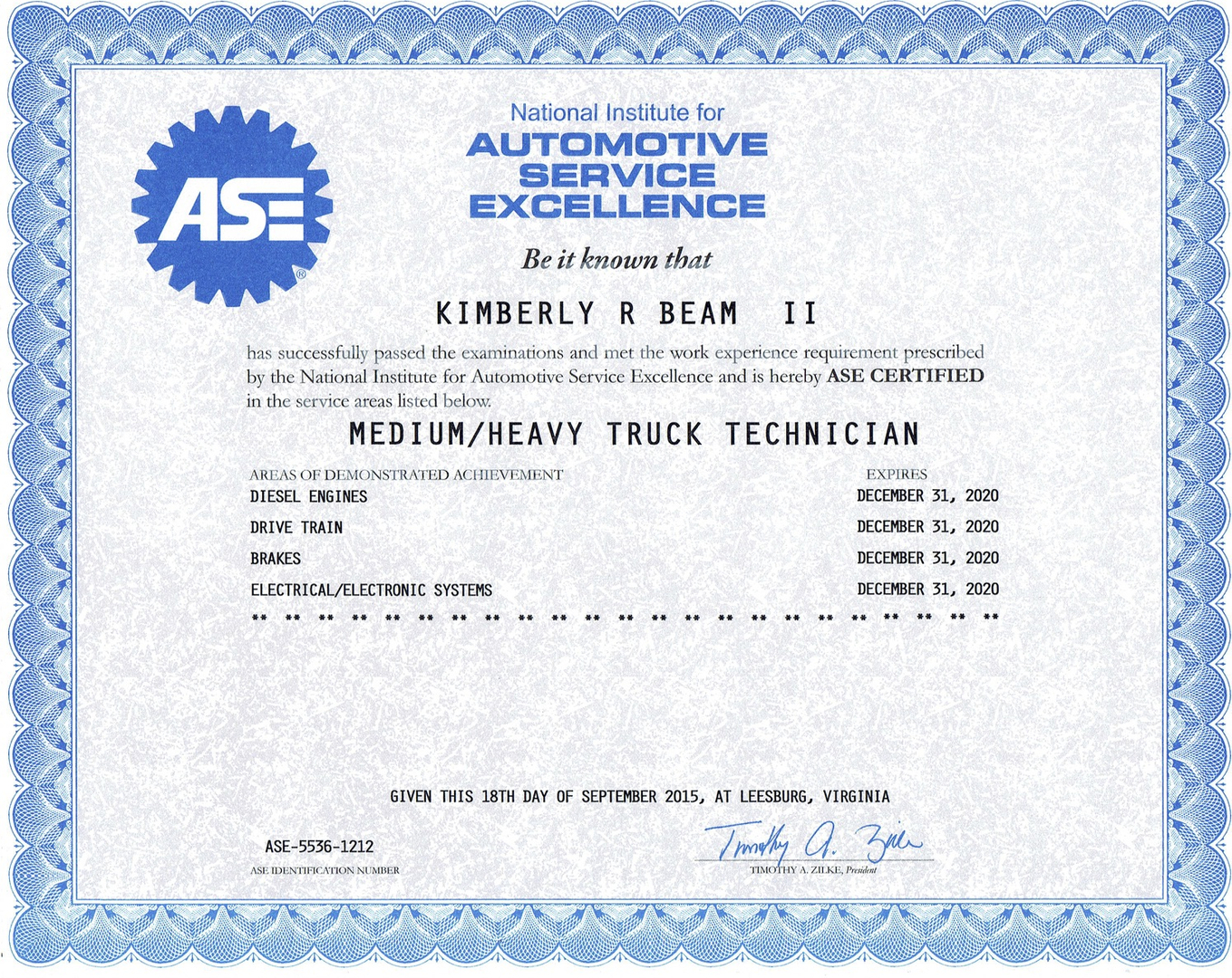 Certifications all jacked up diesel shop llc xflitez Images
