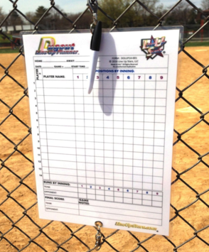 Dugout Line Up Planning Chart