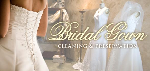 Wedding Gown Cleaning, Restoration & Preservation