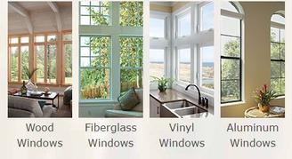 window frame materials