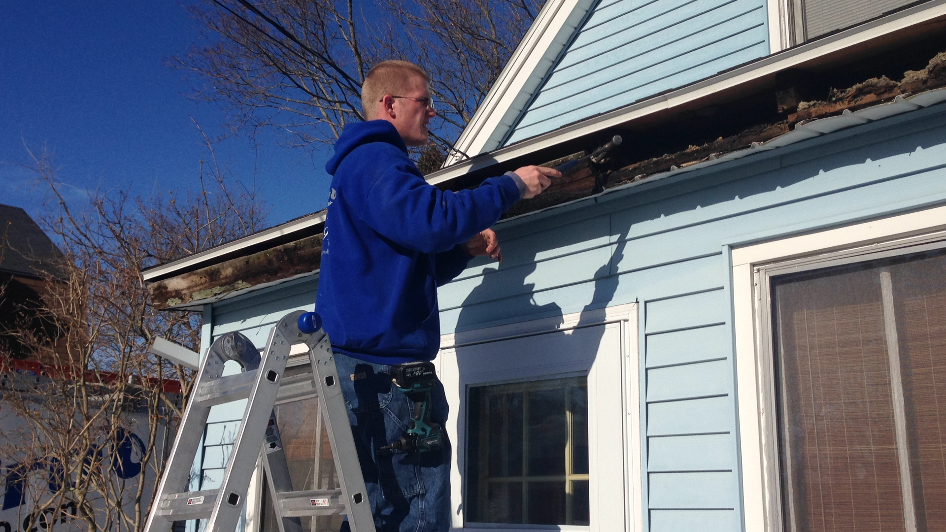 Replace fascia boards in sections - Here Are Some Jobs That We Replaced Fascia On In The Greater Portland Maine Area