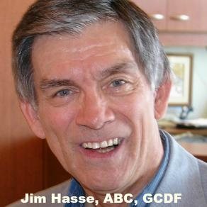 Tight head shot of Jim Hasse, ABC, GCDF
