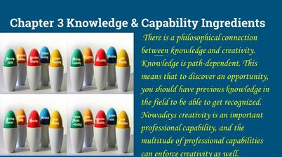 creativity, capability, innovation