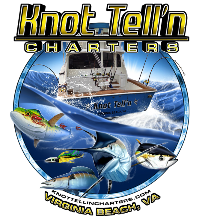 Knot Tell'n Charters Logo
