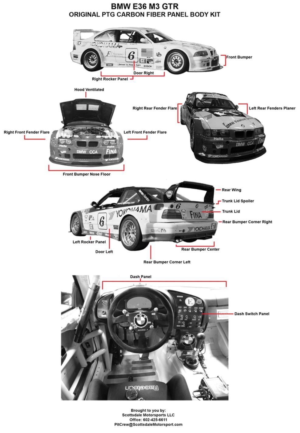 BMW CARBON FIBER PARTS & AERODYNAMICS