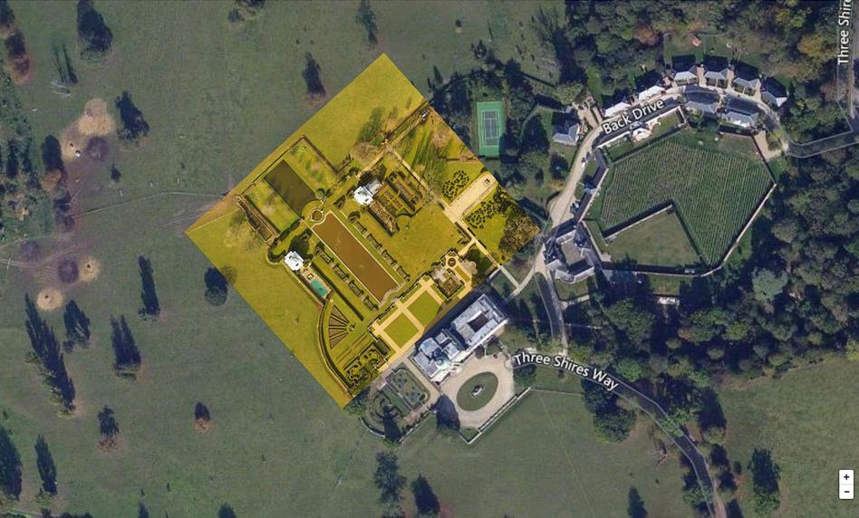 Tyringham Hall Map with Drone Deploy