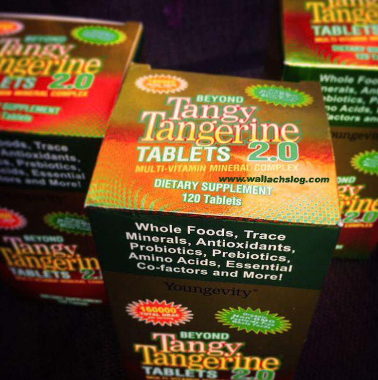 Beyond Tangy Tangerine® 2.0 Tablets