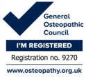 General Osteopathic Council Registration Logo for Craig Loveridge Osteopath