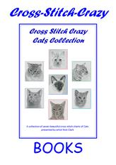 Cats Collection - Book by Cross Stitch Crazy