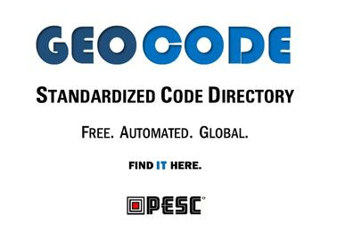 PESC | GEO CODE | Global Education Organization Code List Directory