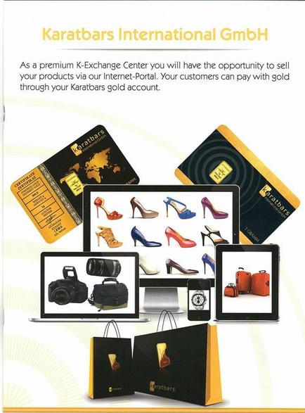 Get PAID to SHOP with GOLD!