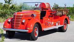 "Centereach (Long Island, NY) FD will be joining us once again with ""Sweet Pea"" their 1939 Sealand engine. :) Sealand Corp. based out of Bridgeport, CT (just across the Long Island Sound) was a fire alarm manufacturer that got into building trucks for about 11 years. They built a small number of engines, ""booster cars"" and small rescue squad type rigs, they earned a solid reputation and there are several on Long Island that are still preserved Photo Credit: Andrew Joel"