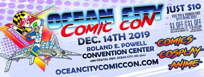 Geekpin Entertainment, Convention Calendar, Ocean City Comic Con