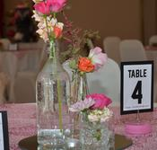 Wedding centre pieces centerpieces flowers large flower arrangements tall centerpieces tall centre pieces candles mirrors crystals lighting feathers theme centerpieces theme centre pieces glassware vases candelabras