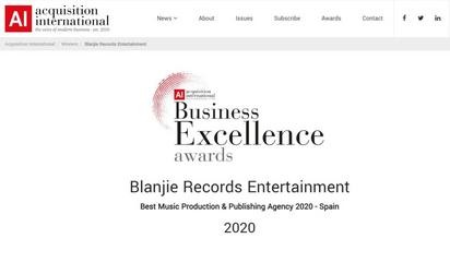 Award Winner : Business Excellence 2020