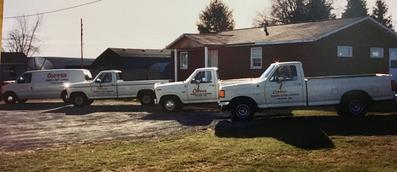 Coppes Termite and Pest Control Service Building the current office location in 1990's Burlington, Iowa