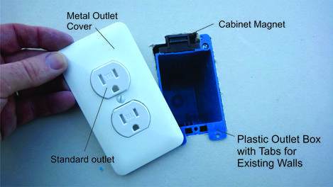 DIY Electric Outlet Wall Safe. Hide valuables in plain sight. www.DIYeasycrafts.com