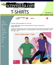 SCREENIT4U T-SHIRTS
