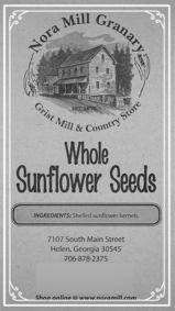 Nora Mill Whole Sunflower Seeds