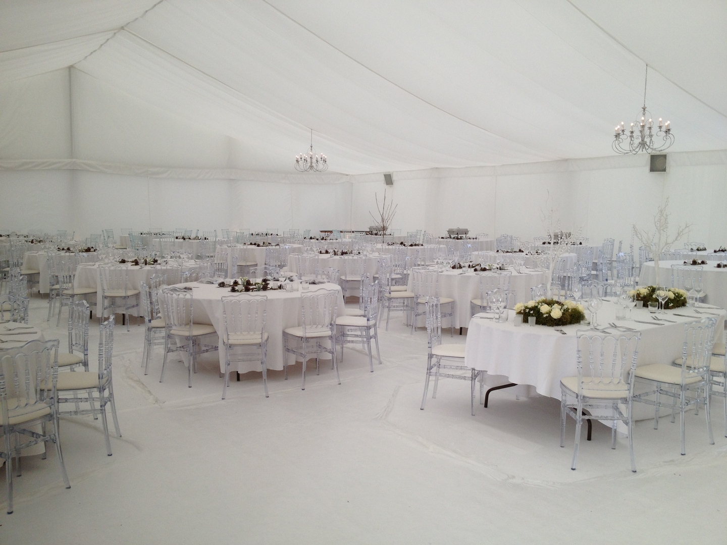 Pristine Wedding Marquee Hire Oxfordshire - Florey Marquee