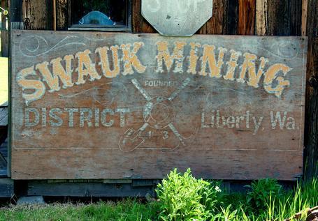 Mining town of Liberty Washington