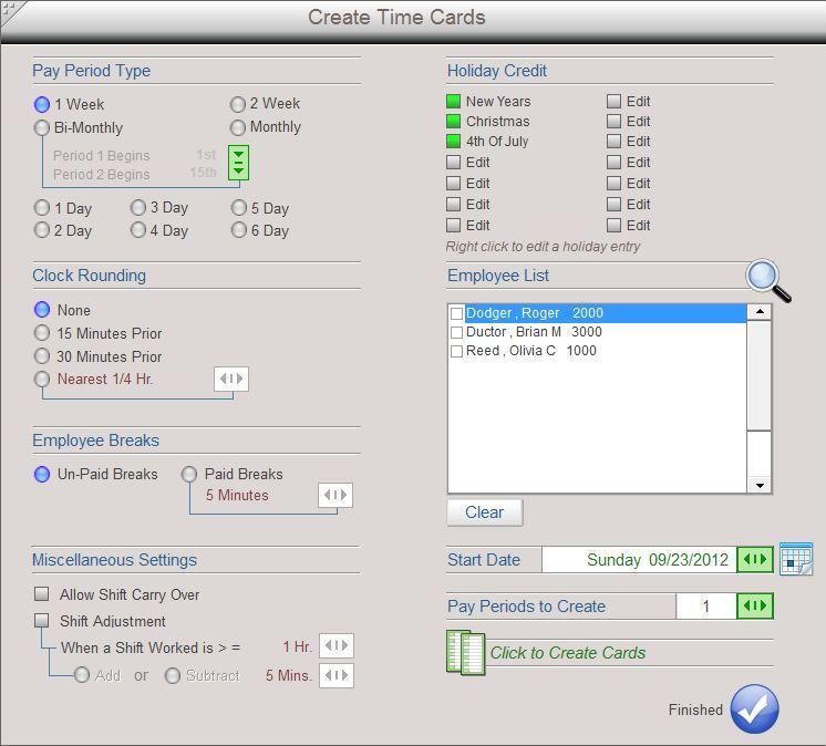 time calculator timesheet time card software econsoft