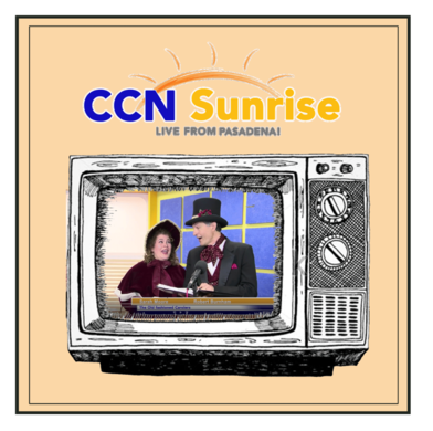 CCN Sunrise segment featuring the Old Fashioned Carolers
