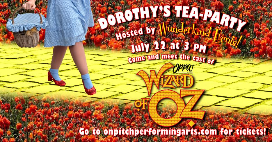 Dorothy's Tea-Party Facebook Event