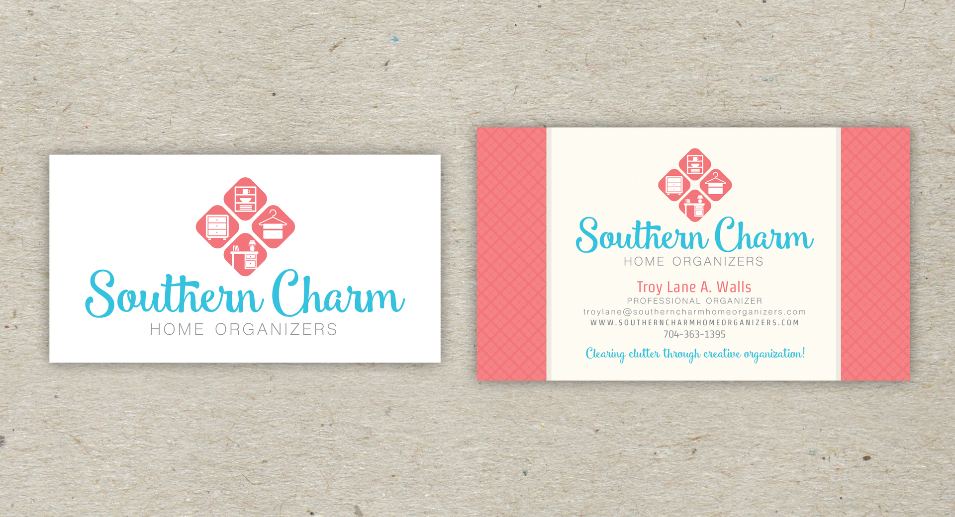 Business Cards Professional Organizer Choice Image - Card Design And ...