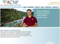 CSU Chico RCNP Web Design