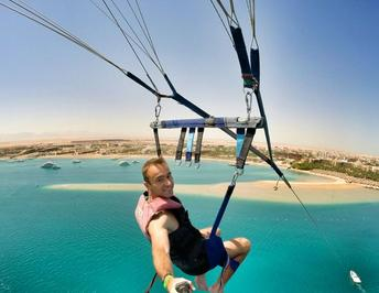 Parasailing excursion from Hurghada