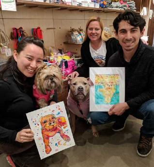 Pet Lover Birthday Presents Portrait Ideas