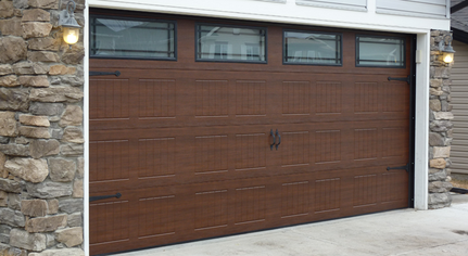 Garage door installations and products