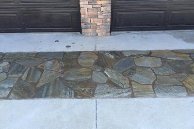 flag stone driveway cleaning sealing orange county