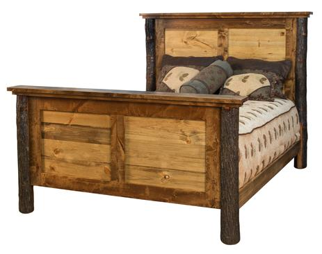 Rustic Hickory Bedroom Furniture