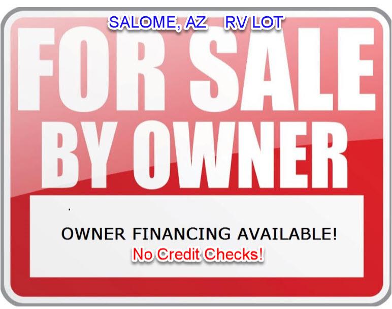 8,200 Sq  Ft Lot in Salome, AZ