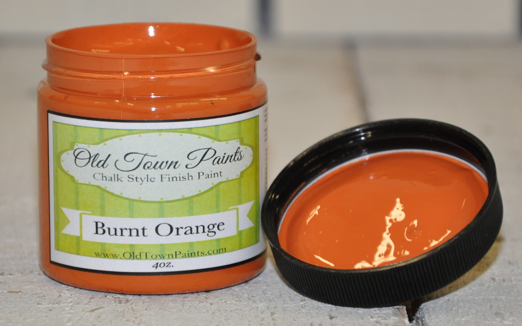 Burnt Orange Paint Old Town Paints And Shabby Chic Paint Color Burnt Orange Chalk Paint