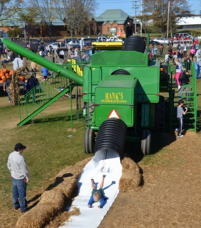 Picture of the Combine Slide at Hank's PumpkinTown