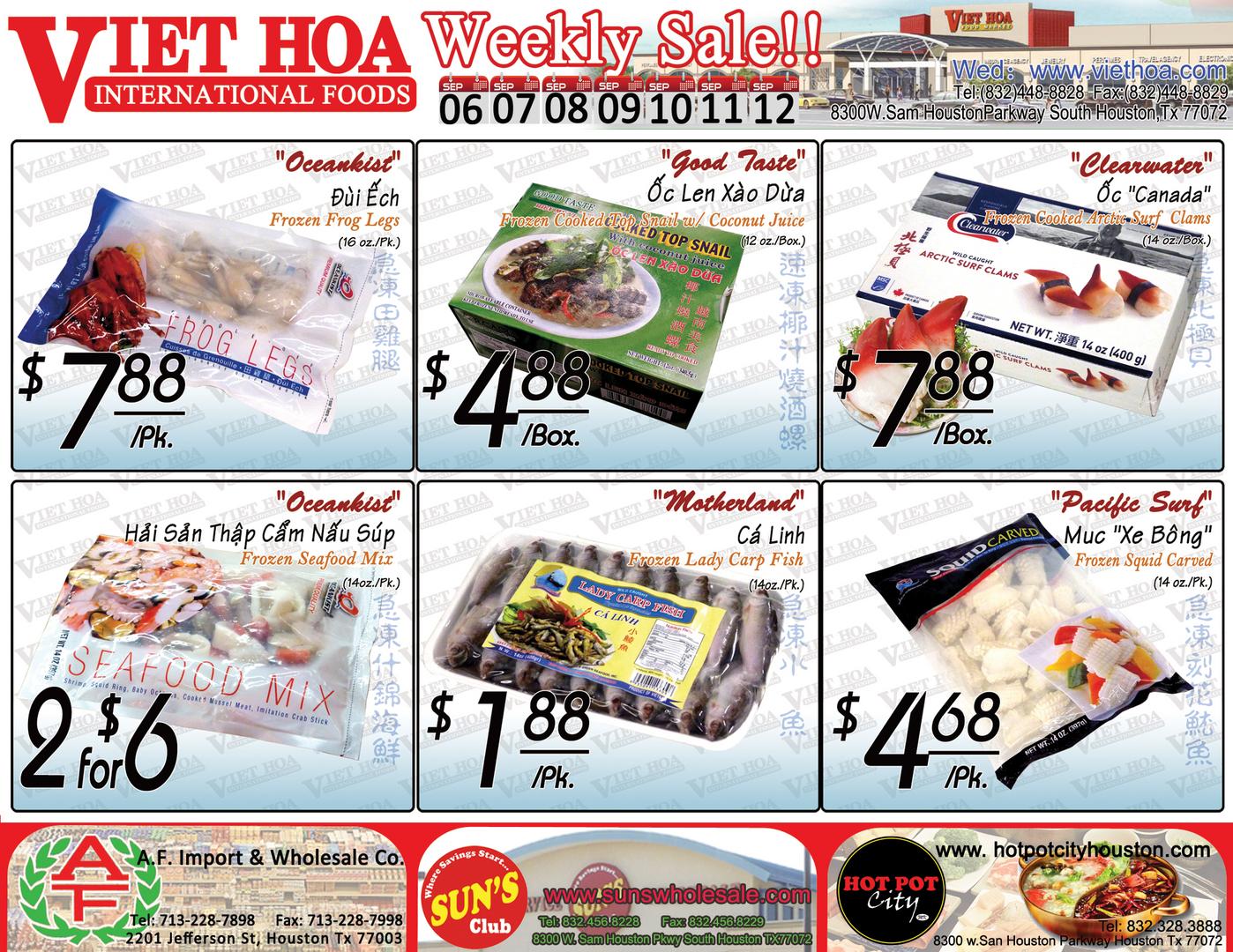 Viet Hoa International Foods-Home