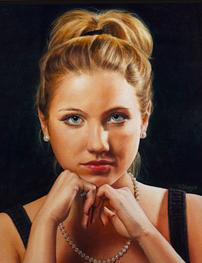 Samantha Heapps portrait painting
