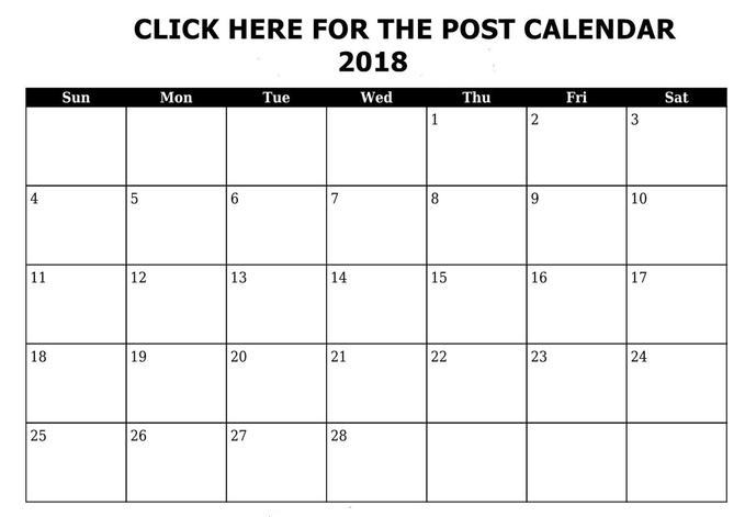 Post Calendar Newsletter Minutes